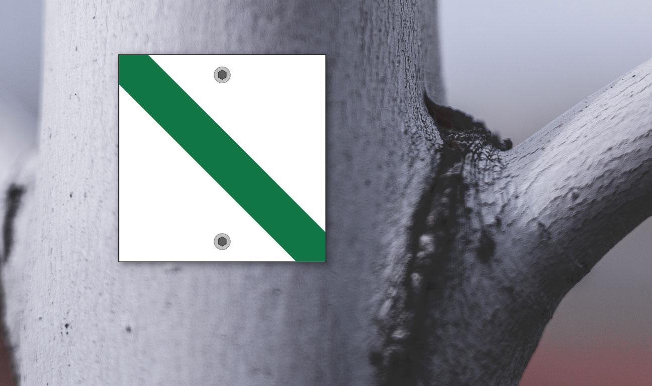 Wegemarken Erholungswege Thüringen